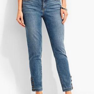 Talbots flawless five pocket jeans